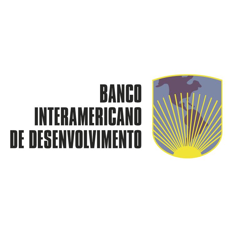 free vector Banco interamericano de desenvolvimento