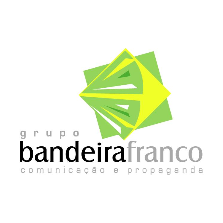 free vector Bandeira franco comunicacao e propaganda