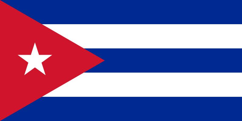 free vector Bandera Cubana