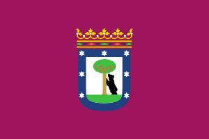 free vector Bandera De La Ciudad De Madrid clip art