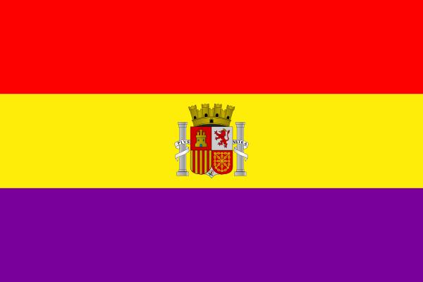 free vector Bandera De La Segunda Republica Espanola clip art