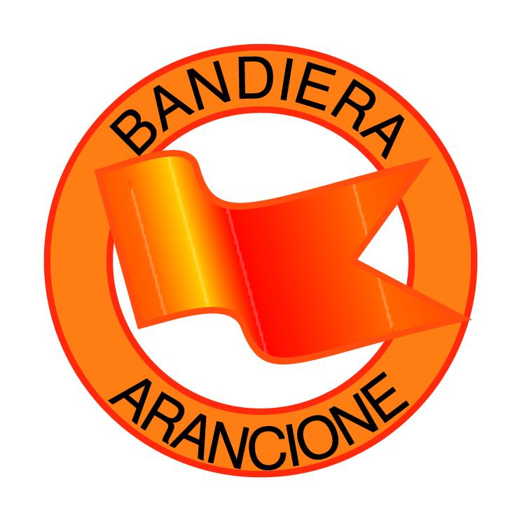 free vector Bandiera arancione