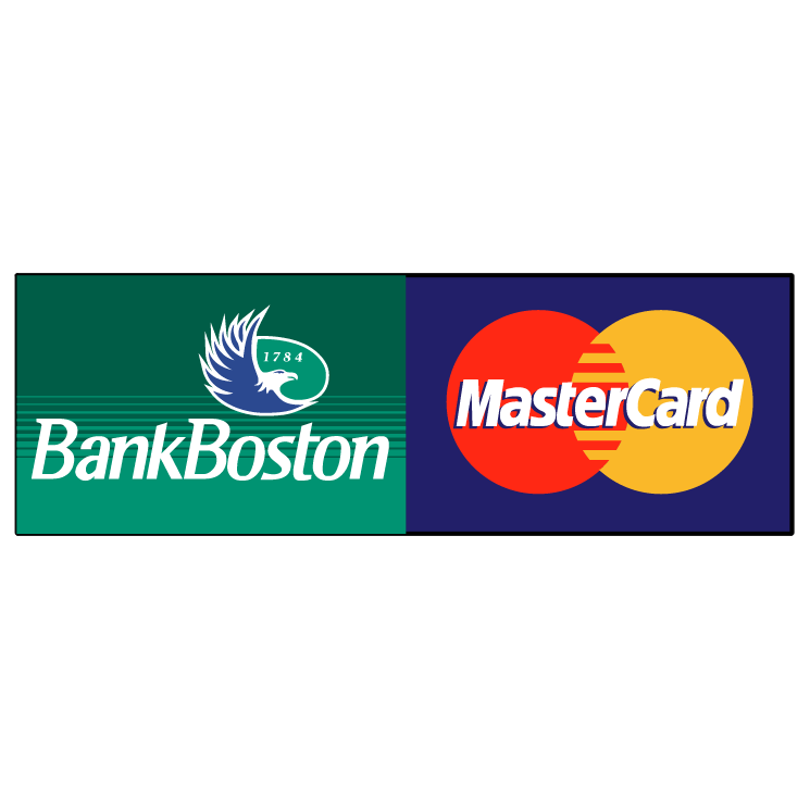 free vector Bank boston mastercard