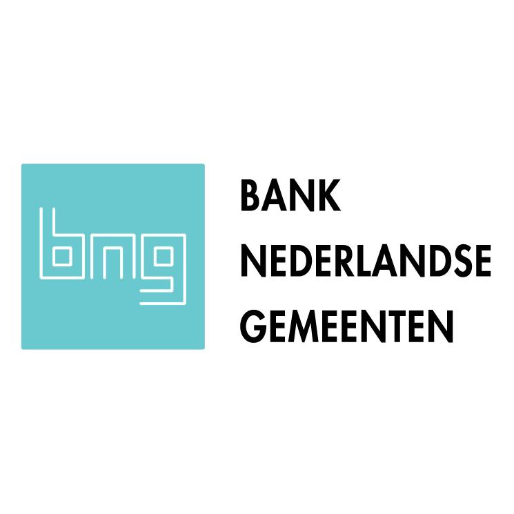 free vector Bank nederlandse gemeenten
