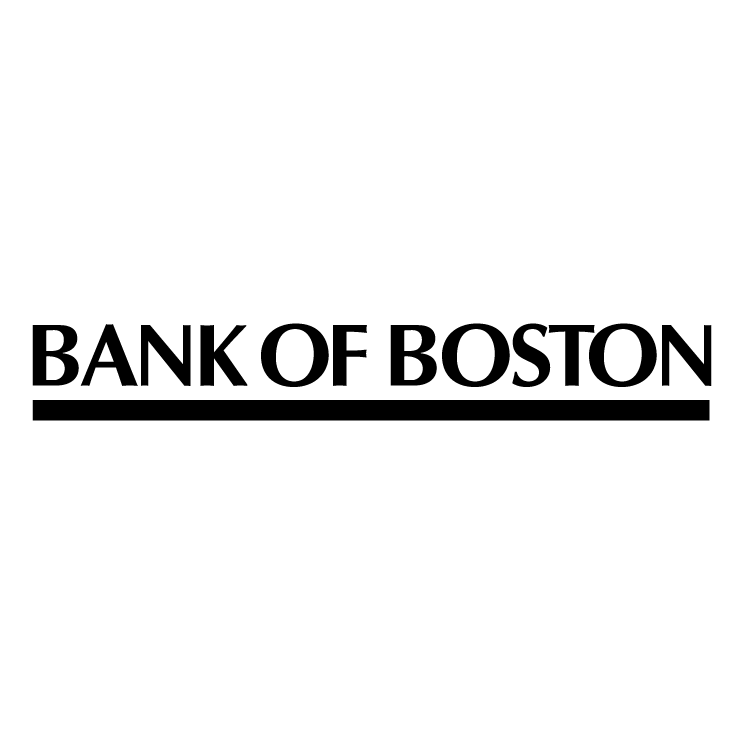 free vector Bank of boston