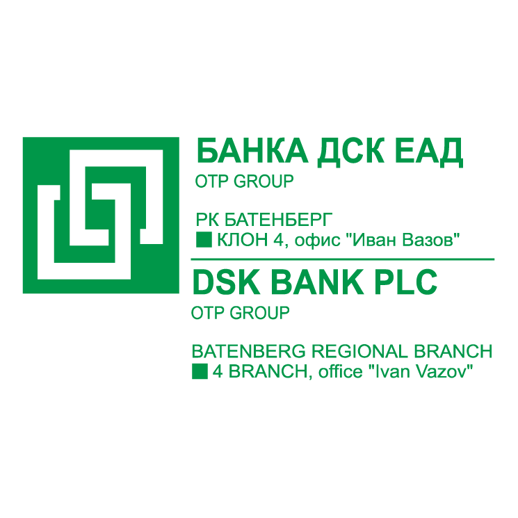 free vector Banka dsk group
