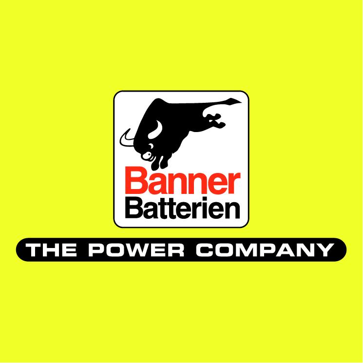 free vector Banner batterien 0
