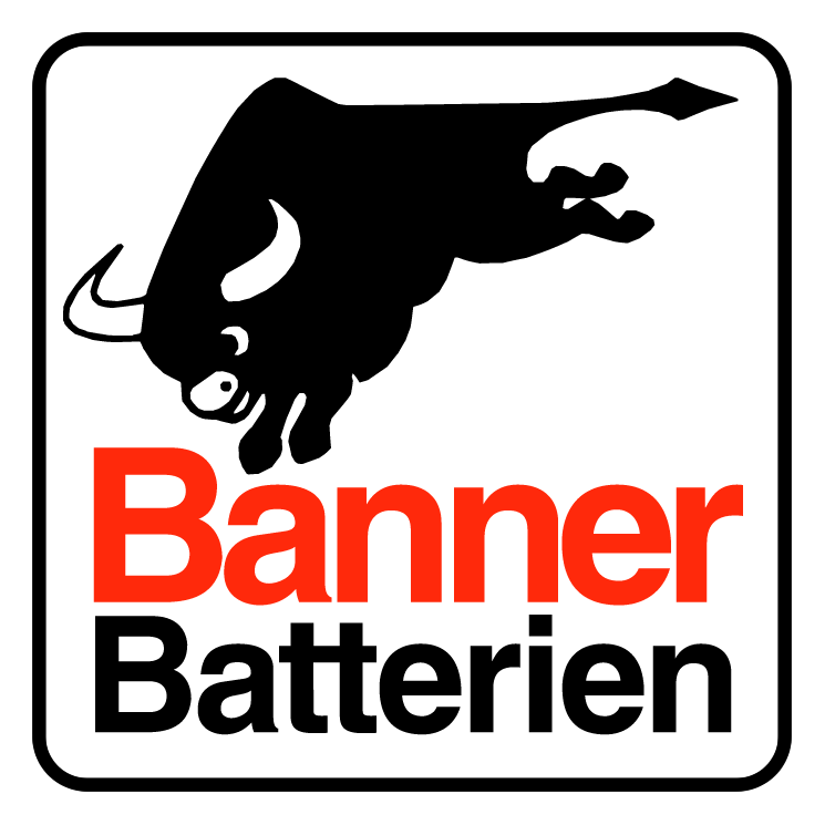 free vector Banner batterien