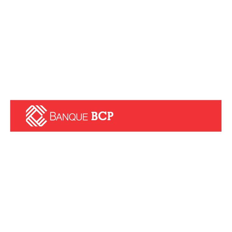 free vector Banque bcp