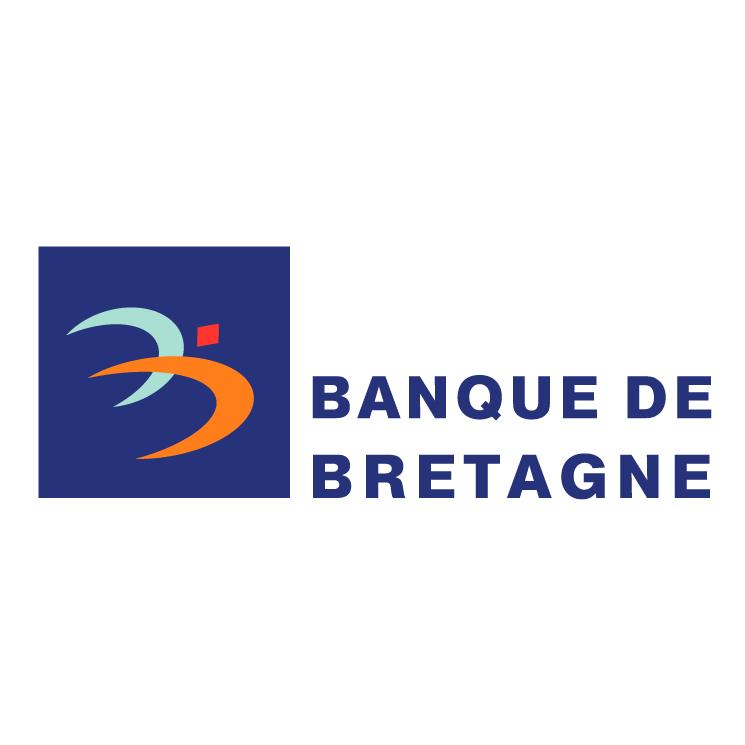 free vector Banque de bretagne