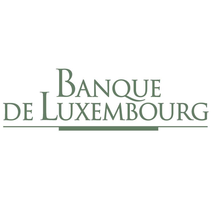 free vector Banque de luxembourg
