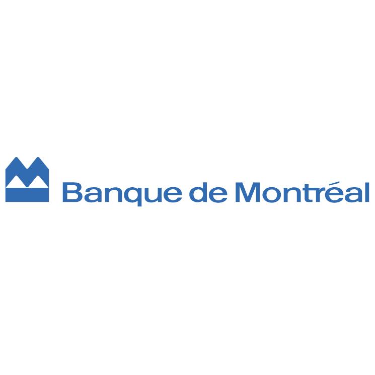 free vector Banque de montreal