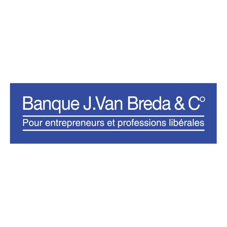 free vector Banque j van breda c