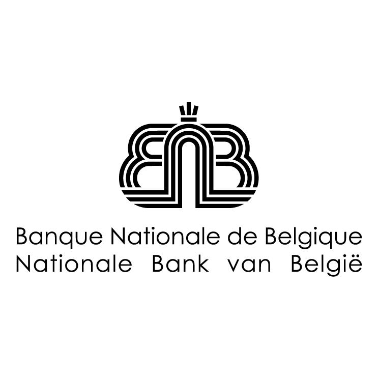 free vector Banque nationale de belgique 0
