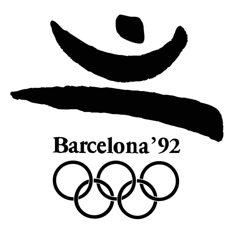 free vector Barcelona 1992 0