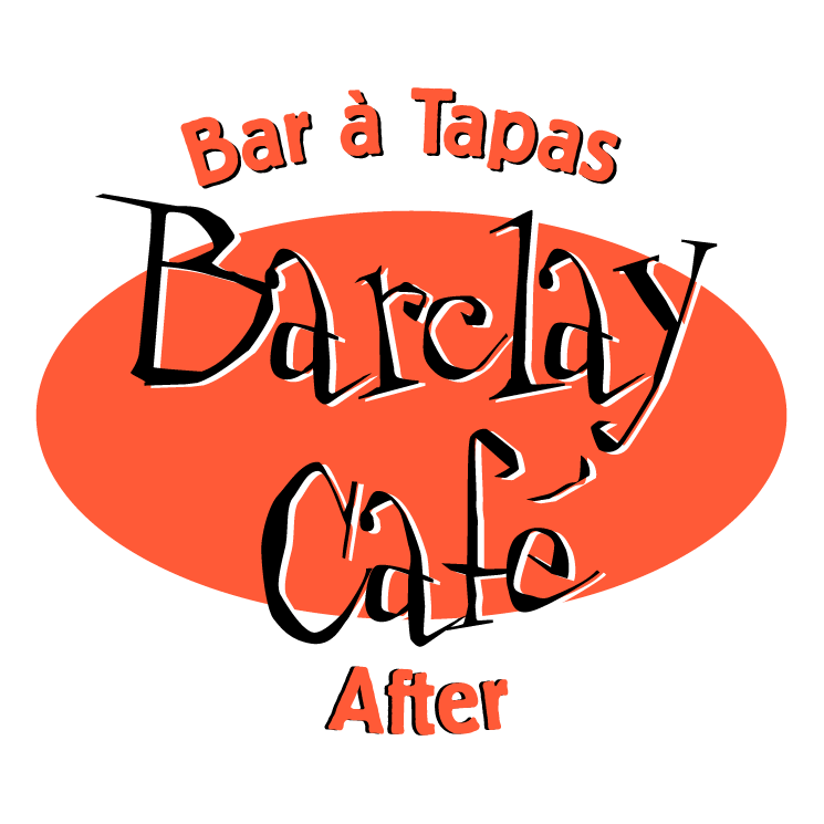 free vector Barclay cafe