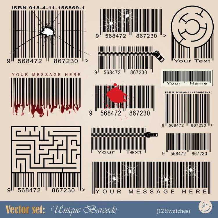 free vector Barcode 02 vector