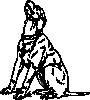 free vector Barking Dog clip art