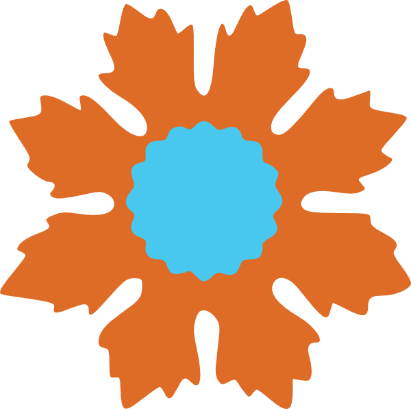 free vector Baroqueflower clip art