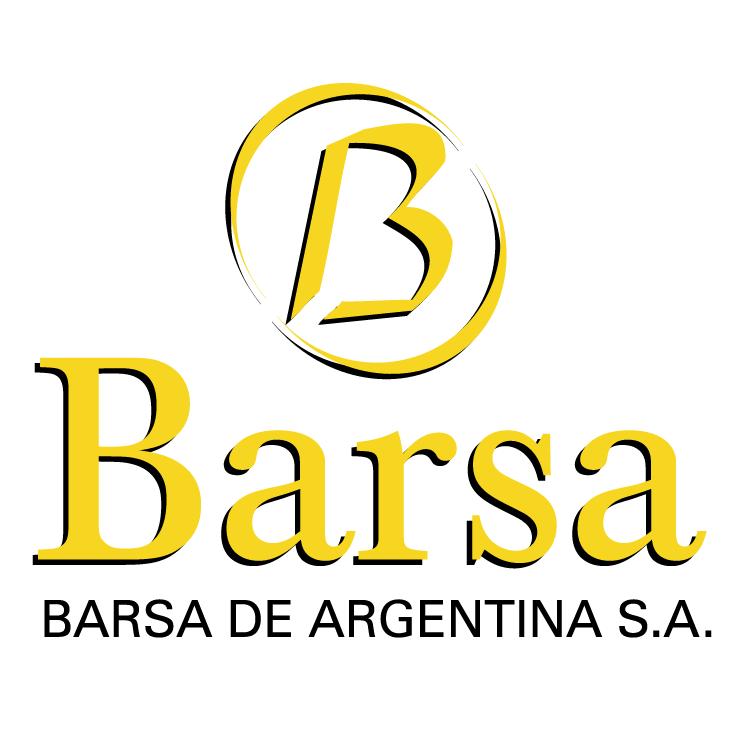 free vector Barsa de argentina