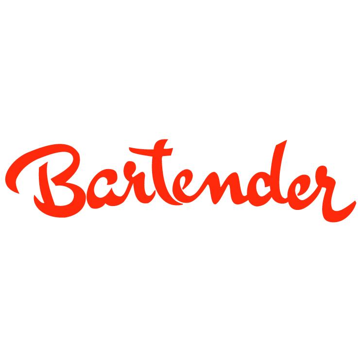 free vector Bartender