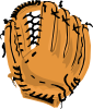 free vector Baseball Glove clip art