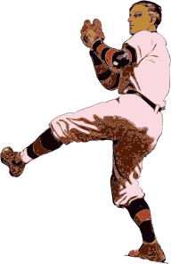free vector Baseball Pitcher clip art