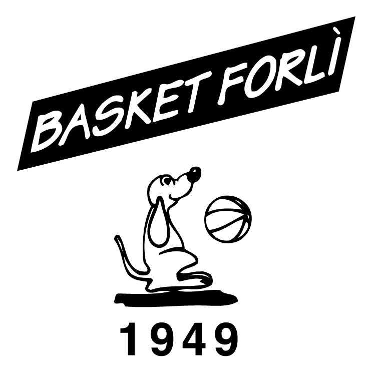 free vector Basket forli marchio