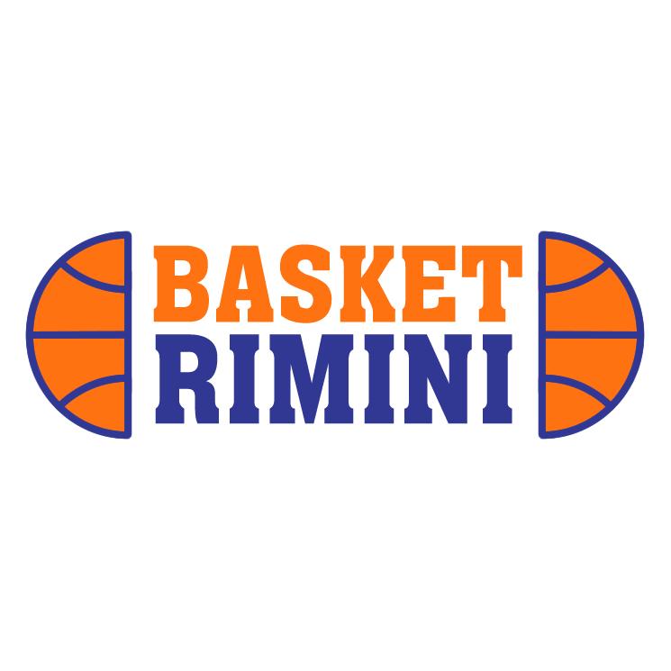 free vector Basket rimini