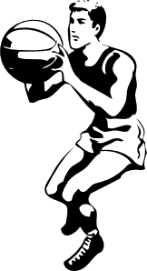 free vector Basketball Player clip art