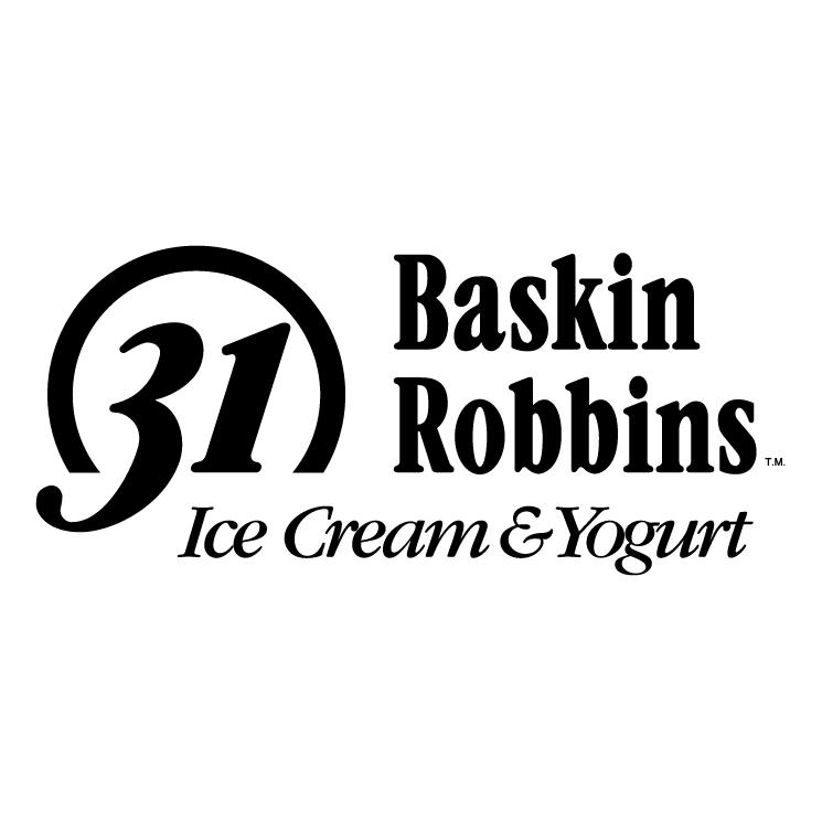 free vector Baskin robbins 1