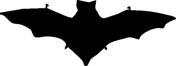 Bat Silhouette clip art Free Vector / 4Vector