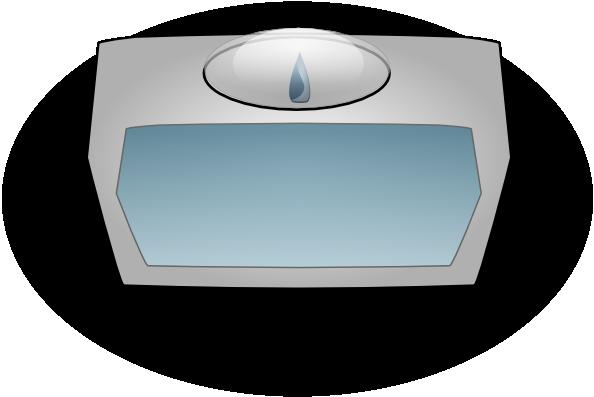free vector Bathroom Scale clip art