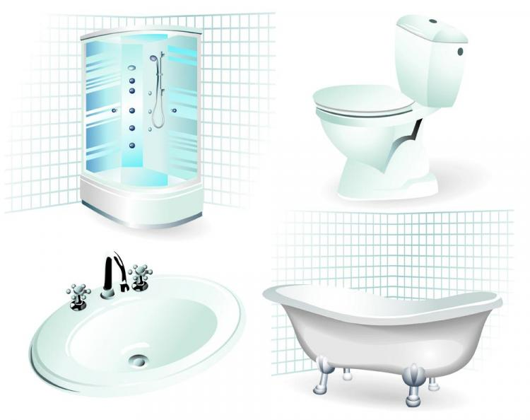 bathroom supplies. Free Vector Bathroom Supplies 01 Free Vector  4Vector