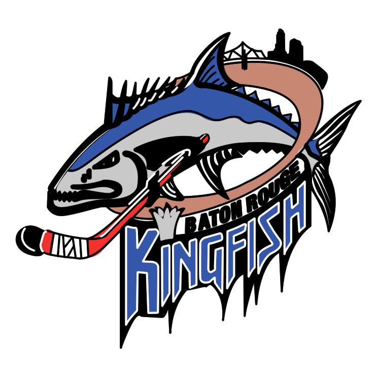 free vector Baton rouge kingfish