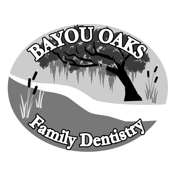 free vector Bayou oaks 0