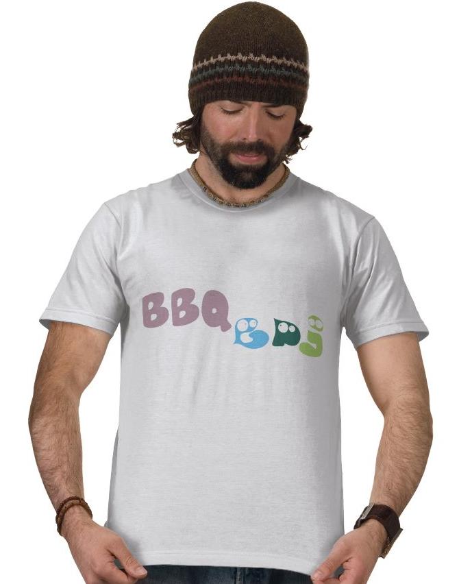 free vector BBQ Funny T Shirt