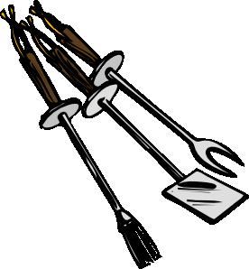 free vector Bbq Grilling Tools clip art