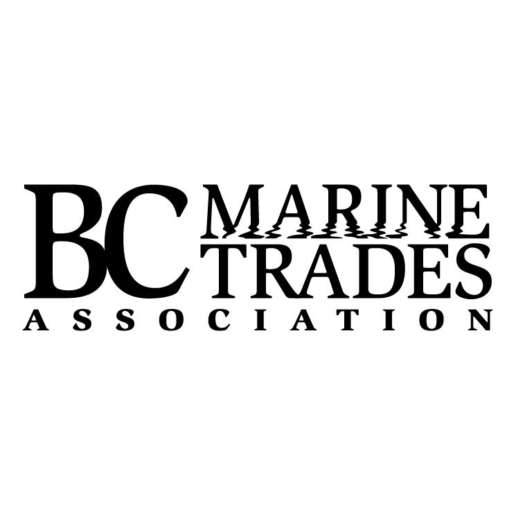free vector Bc marine trades association 0