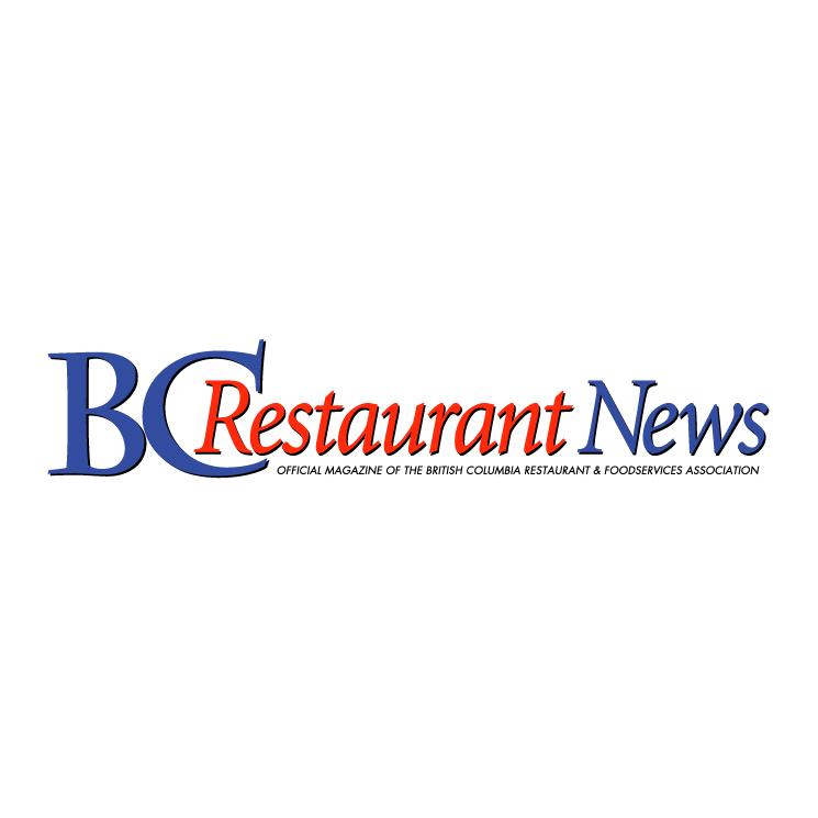 free vector Bc restaurant news