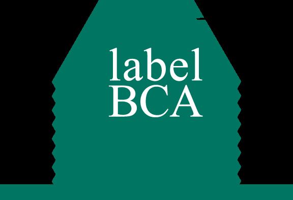 free vector BCA label