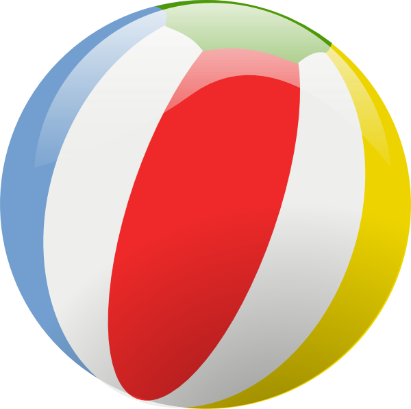 free vector Beach Ball clip art
