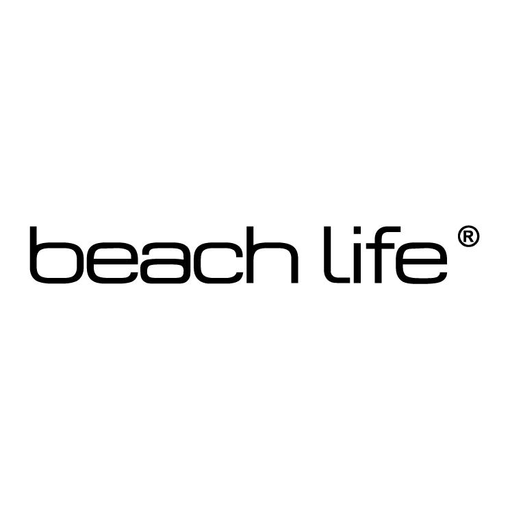 free vector Beach life