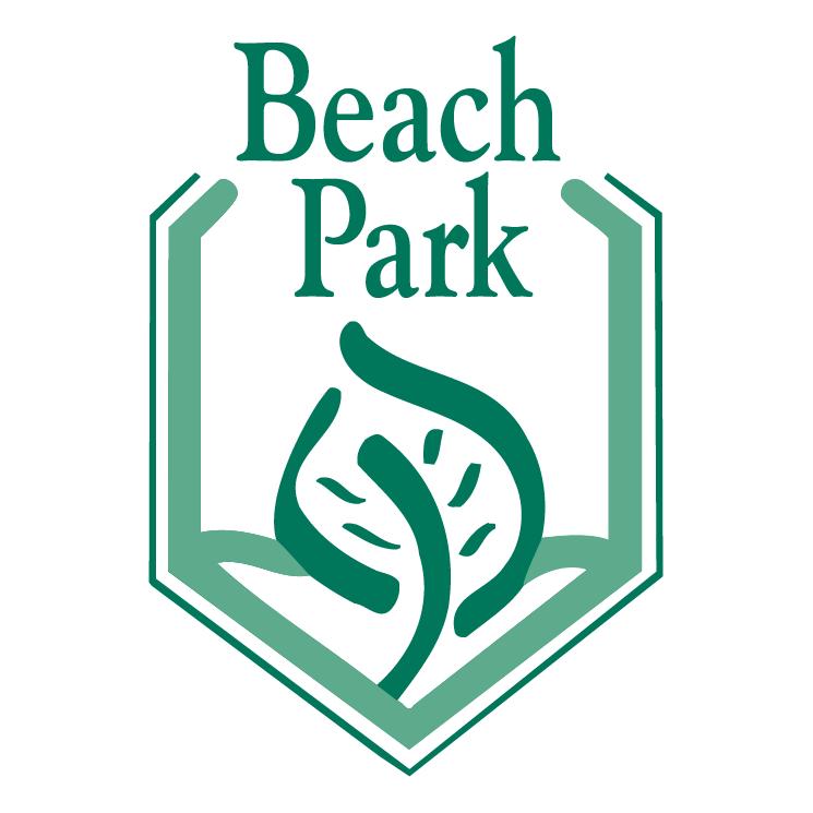 free vector Beach park