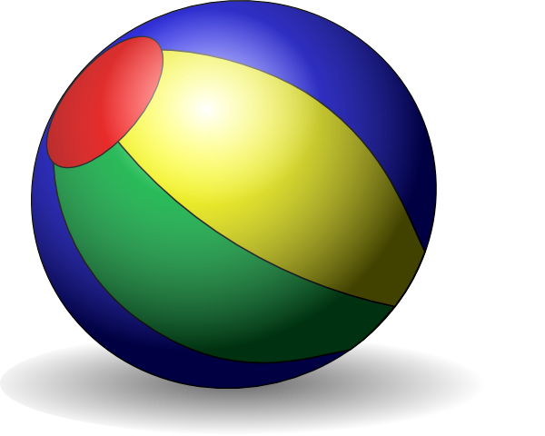 free vector Beachball V clip art