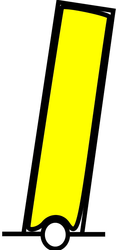 free vector Beacon yellow