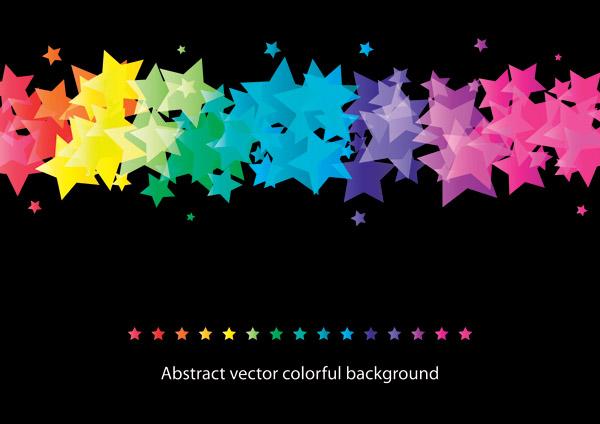 free vector Beautiful 5glare background vector