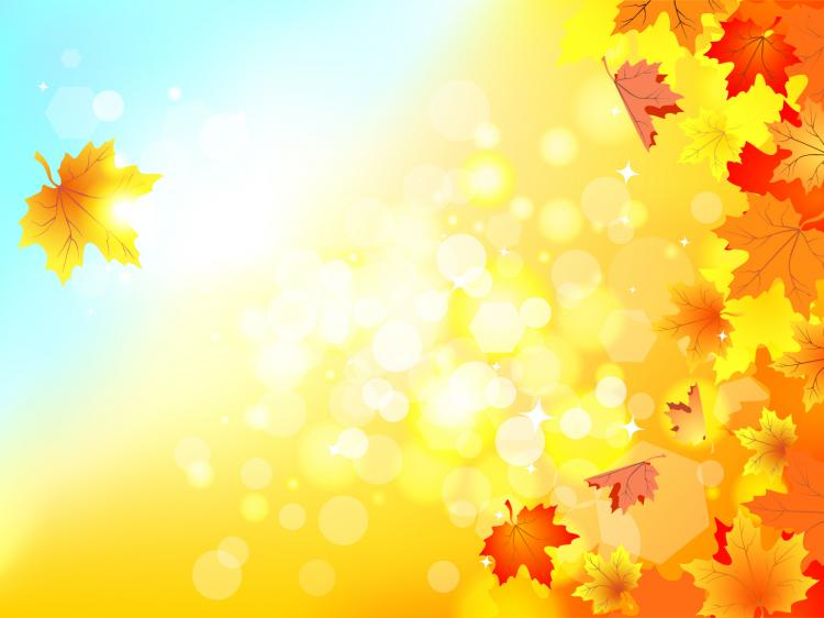 Beautiful autumn background 05 vector free vector 4vector beautiful autumn background 05 vector free vector voltagebd Images