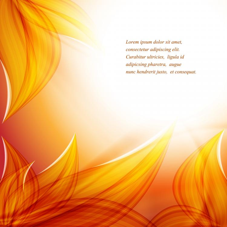 free vector Beautiful autumn leaf background 04 vector