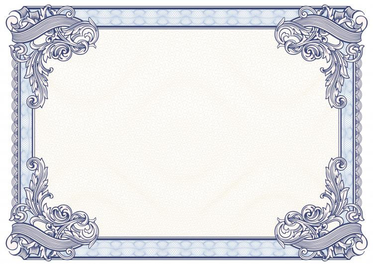 Certificate border template free format of a purchase order xflitez Images